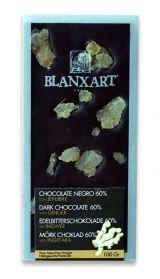 Blanxart 100g. Ciocolata neagra cu ghimbir