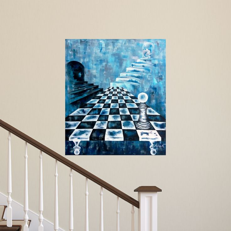 Doğru ve Yanlış (Right and Wrong) by Sevdiye Ay #Tuval üzerine #Akrilik / #Acryliconcanvas 70cm x 80cm  #gallerymak #sanat #resim #tablo #ig_sanat #zaman #mavi #sergi #sanatgalerisi #sanateseri #cagdassanat #sanatseverler #contemporaryart #artgallery #time #gununkaresi #acrylicpainting #painting #artoftheday #artcurator #contemporary