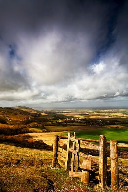 Devil's Dyke, Sussex, I walk on Devil's Dyke between Newmarket's two racecourses. Tennis game improved through Turbo Charged Reading – yes! http://youtu.be/LyO3EkP1TdY