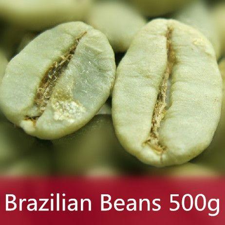 500g Brazil Green Coffee Beans 100% Original High Quality Green Slimming Coffee the tea green coffee slimming bean
