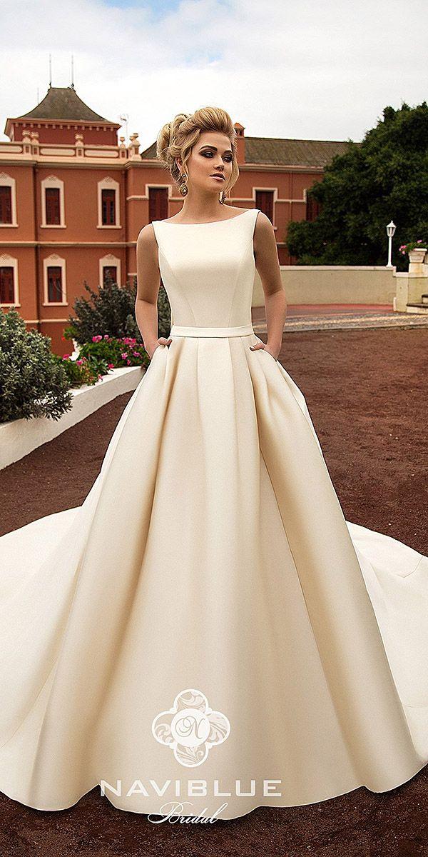 Naviblue Bridal Wedding Dresses: Collection 2018 ❤ naviblue bridal wedding dre…
