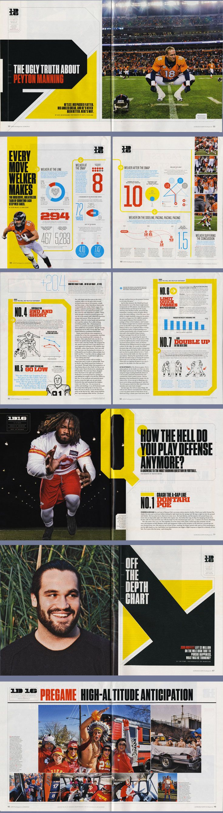 ESPN The Magazine's Dec. 9 One Day One Game issue. http://insider.espn.go.com/insider/espn-the-magazine/ Photo: Chip Litherland, http://www.chiplitherland.com/ Photo: http://dustinsnipes.com/ Photo: http://www.josemandojana.com Illustration: http://www.todddetwiler.com/
