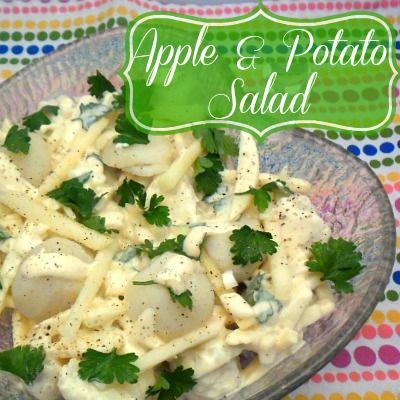 Apple & Potato Salad   Food junkie   Pinterest