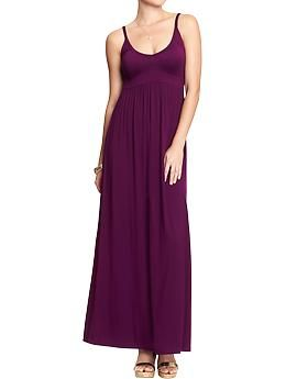 Women's Empire-Waist Maxi Dresses | Old Navy - use a tank top and jersey knit for the bottom
