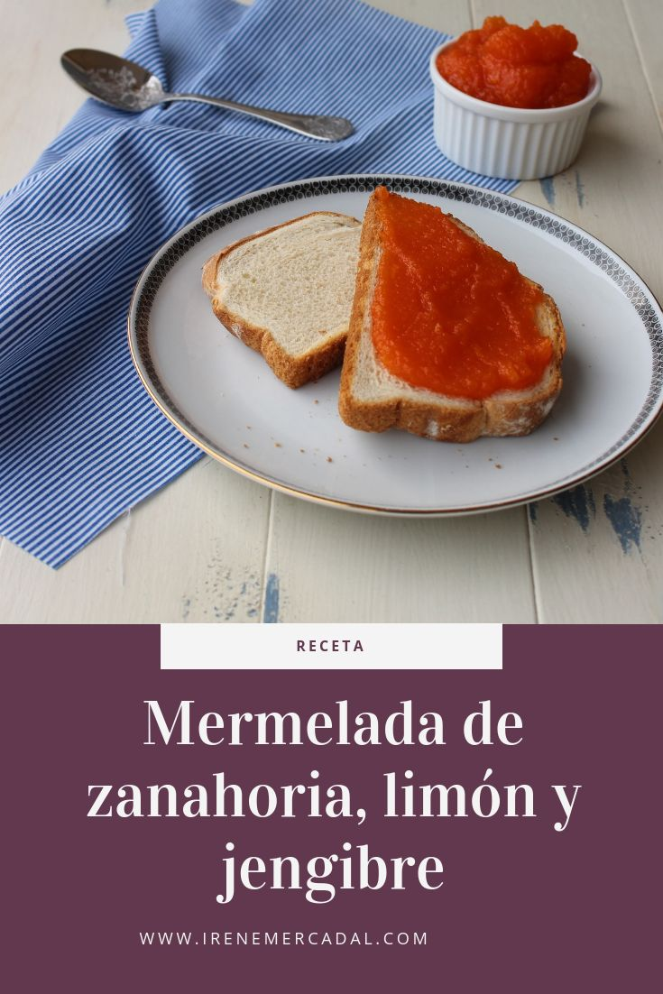 Esta mermelada de zanahoria, limón y jengibre es tan deliciosa y fresca como original, para ver la receta entra aquí. #mermeladazanahorialimon #recetamermeladazanahoria #recetamermeladaorginal French Toast, Breakfast, Food, Pork Tenderloins, Cook, Preserve, Best Recipes, Morning Coffee, Essen