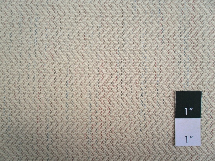 CLEARANCE Mountain Range Herringbone Twill Jacquard Woven Cream UPHOLSTERY Fabric 2 1/4 Yards. $6.19, via Etsy.