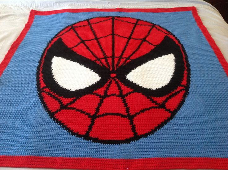 For A Young Fan Of Spider Man Crochet For Beginners
