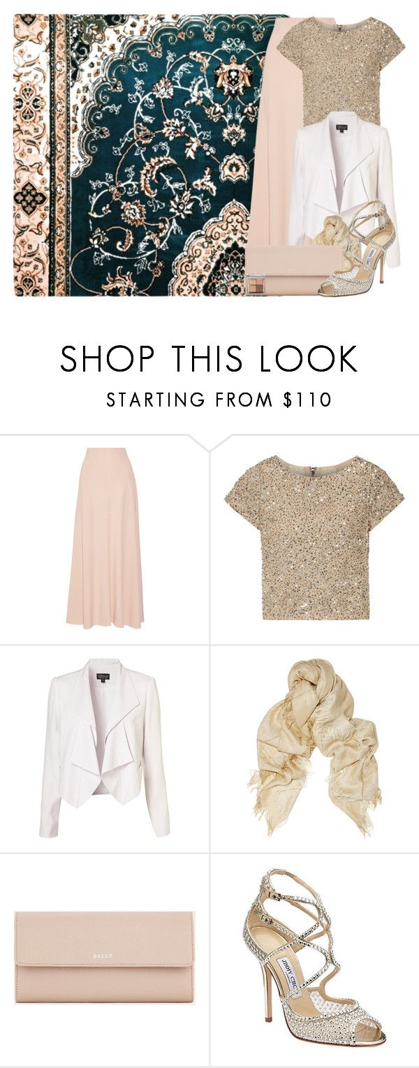 """""""Ramadan 2017: Day 12"""" by professorlino ❤ liked on Polyvore featuring The Row, Alice + Olivia, Topshop, STELLA McCARTNEY, Bally, Jimmy Choo and Bobbi Brown Cosmetics"""