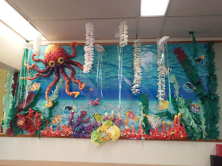 Summer Library Bulletin Board Themes Decorations