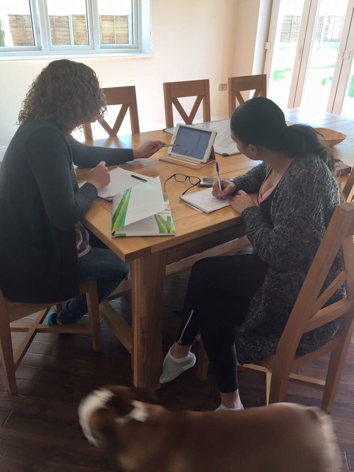 Business planing from the kitchen table