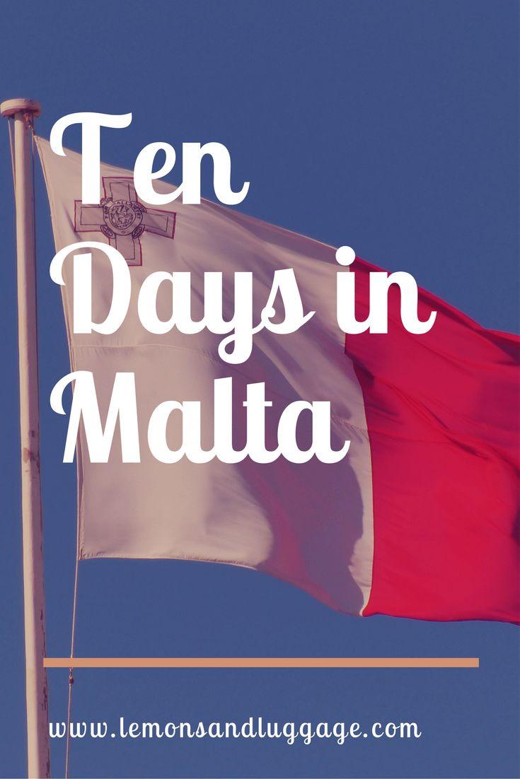 All about the ten days I spent in #Malta for the #summer  #summertravel #travel #travelguide #lemonsandluggage