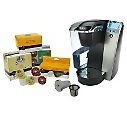 Keurig Platinum Series Quiet Brewer w/ 48 K-Cups & My K-Cup