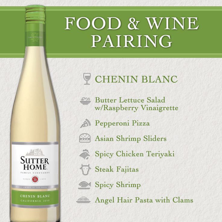 Sutter Home Wine & Food Pairing Series: Chenin Blanc - Did you know...that Chenin Blanc is the most popular and widely planted grape in SOUTH AFRICA? #WinePairing #wine