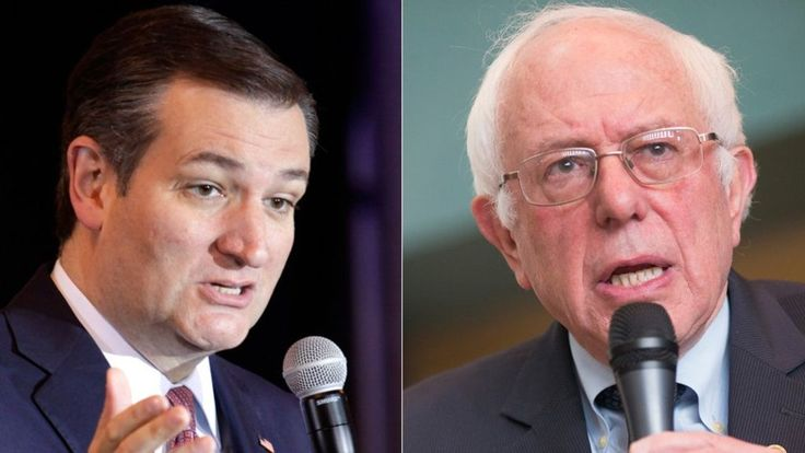 US presidential candidates Ted Cruz and Bernie Sanders have won the Wisconsin state primary, US media project.