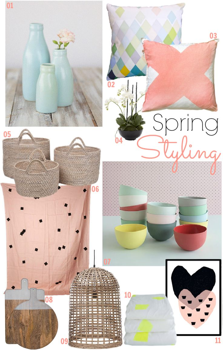 07 Mud Baby Noodle Bowls, as seen The Design Chaser: Interior Styling | Spring Inspiration