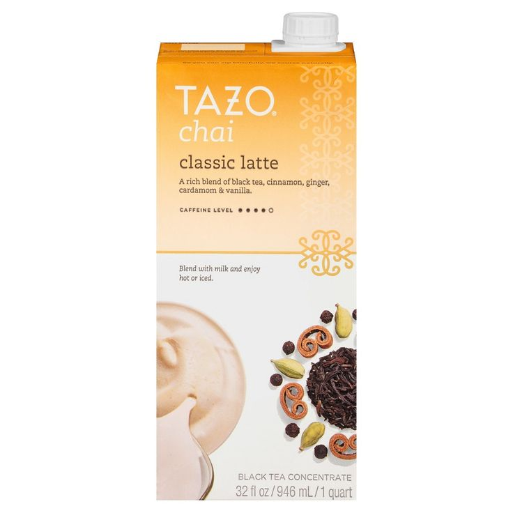 Tazo Chai Tea Latte, Tea Beverage