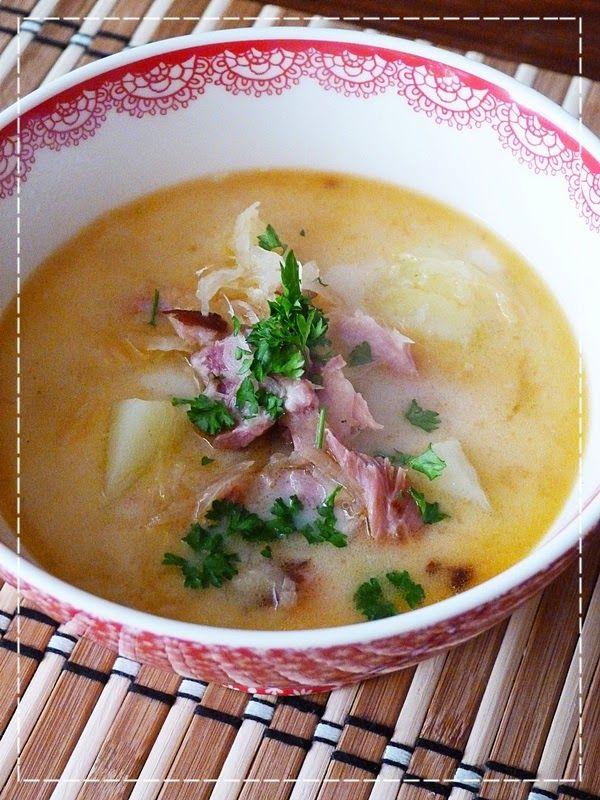 Kouzlo mého domova: Zelná polévka z uzených žeber