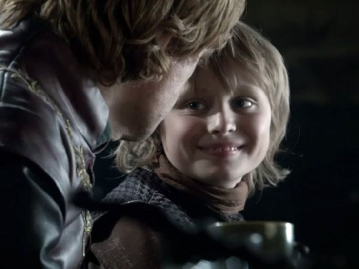 Tommen Baratheon was also recast. Here's Callum Wharry as the youngest of Cersei's children in season one.