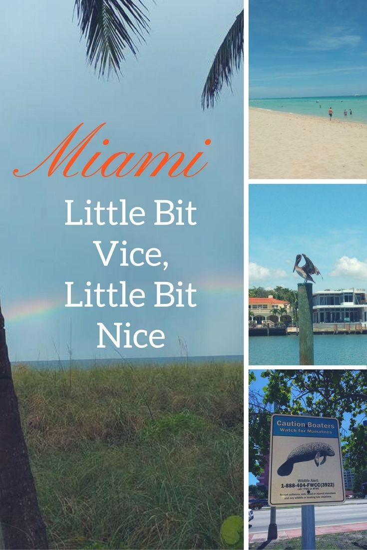 Miami A mix of beauty and