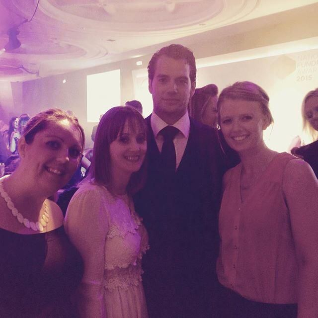"""""""Met Superman tonight"""" via salw1980. Great shot with a handsome Henry Cavill  http://bit.ly/1S3nHjf"""
