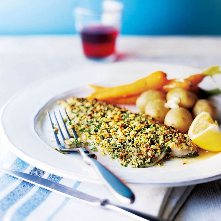 Baked Almond-Crusted Trout Fillets - Woman And Home