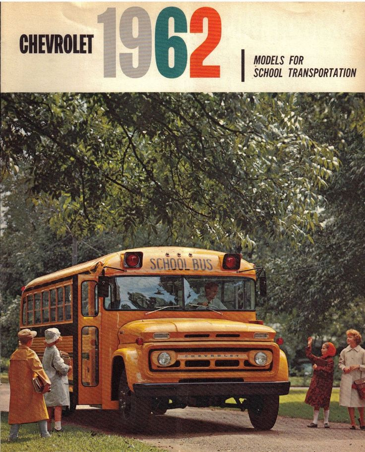 1962 Chevrolet School Bus Brochure Keep On Bussin