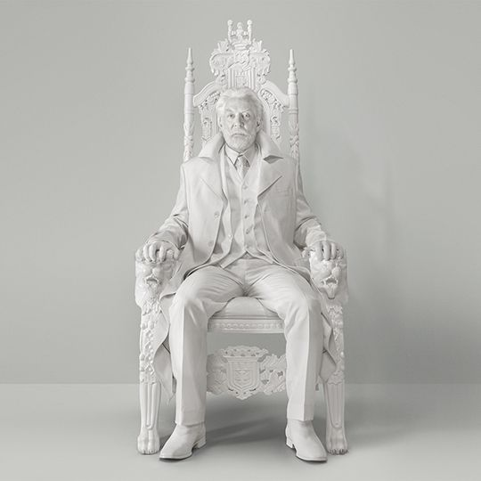 Love Monochrome (The Devil's Double) - Donald Sutherland at President Snow
