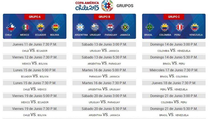 Muy emocionante se prevé que será la próxima edición de la Copa América, que se llevará a cabo el próximo año en Chile desde el 11 de junio hasta el 4 de julio.