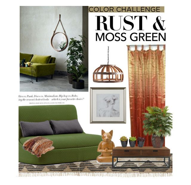 "Decorating With Colors Mango: ""Moss Green And Rust -Color Challenge"" By Sofiasolfieri On"