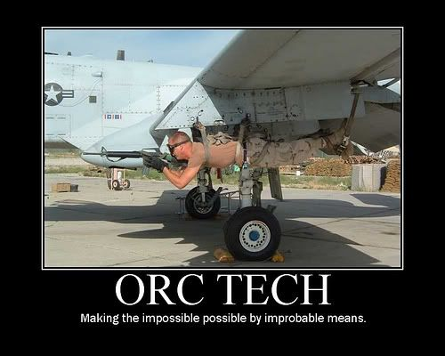 Personally hate Orcs and don't play with them but I do love the Orc Techs
