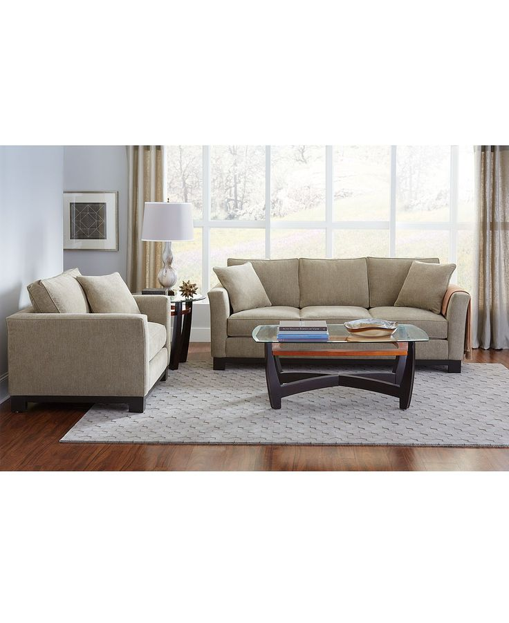 Kenton Fabric Sofa Created for Macyu0027s | Fabric sofa Furniture collection and Living room furniture  sc 1 st  Pinterest : kenton sectional - Sectionals, Sofas & Couches