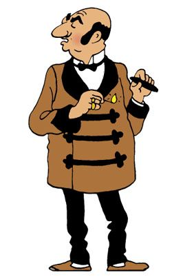 Les Aventures de Tintin - Rastapopoulos - The Blue Lotus (1936) - master of evil, enemy of the good - Herge