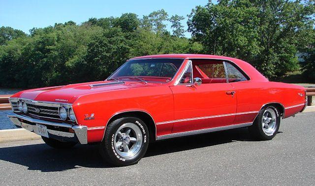 Rr Bolero Red Chevrolet Chevelle Malibu Chevelle 1967 Chevelle