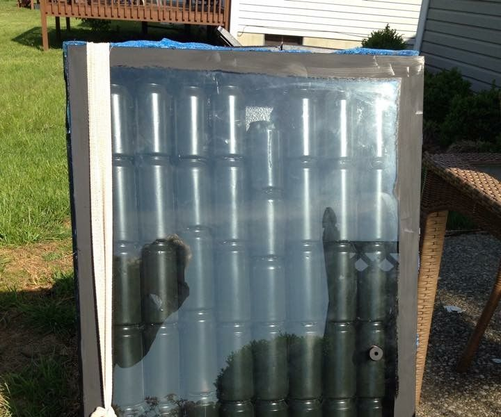 17 best ideas about solar heater on pinterest how solar for Tin can solar heater