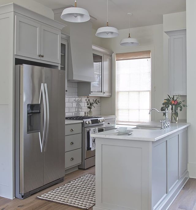 Another Angle Of This Small But Sweet Serenbe Townhome Kitchen Its Part Of Th Kitchen Remodel Layout Condo Kitchen Remodel Small Apartment Kitchen