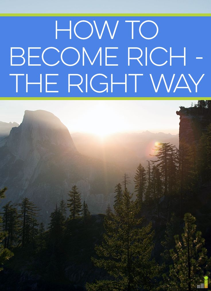 You can become rich in many ways, though most often takes time and work. I share the secret to becoming rich the right way, which won't happen quickly.