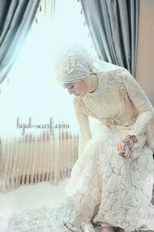 aaaa-Muslim wedding dress