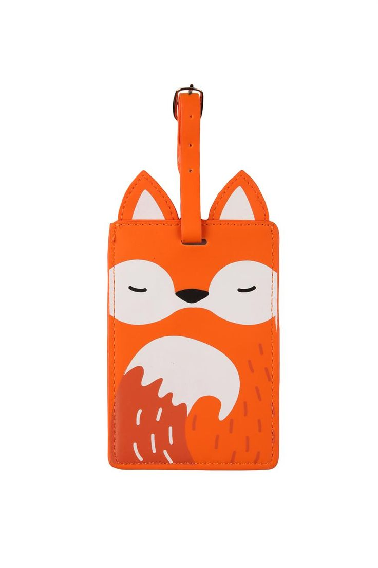 animal luggage tag