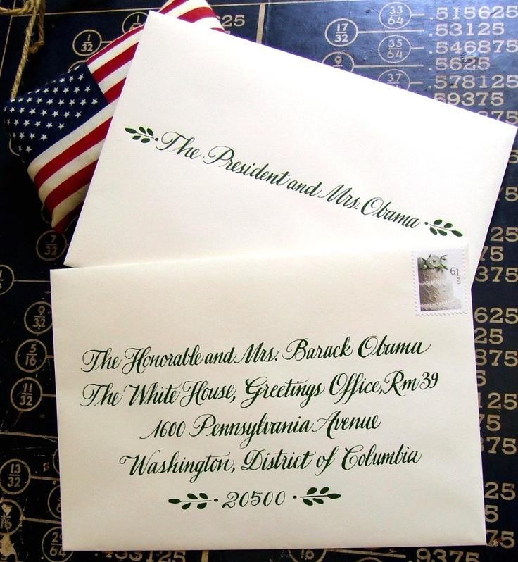 KisforCalligraphy Wedding Calligraphy Envelope, etsy