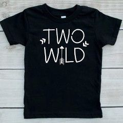 Have a wild almost 2 year old? How perfect is this TWO-WILD tee for their second birthday? The best part is it can be worn for a whole year after their birthday party, not many shirts will get worn mo
