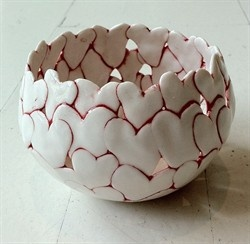 """Heart Bowl,"" ca. 2010,"" byAnnita Due, Middelfart, Denmark."