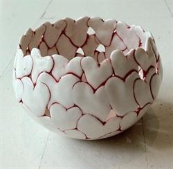 """""""Heart Bowl,"""" ca. 2010,"""" byAnnita Due, Middelfart, Denmark."""