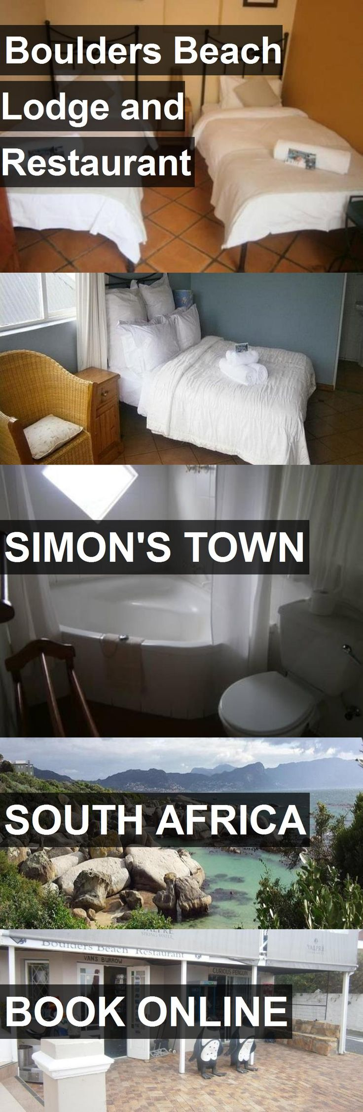 Hotel Boulders Beach Lodge and Restaurant in Simon's Town, South Africa. For more information, photos, reviews and best prices please follow the link. #SouthAfrica #Simon'sTown #travel #vacation #hotel