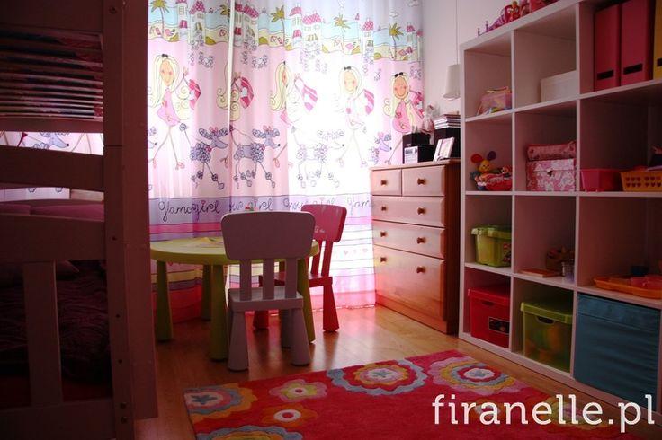 kolorowe zasłony do pokoju dzieci