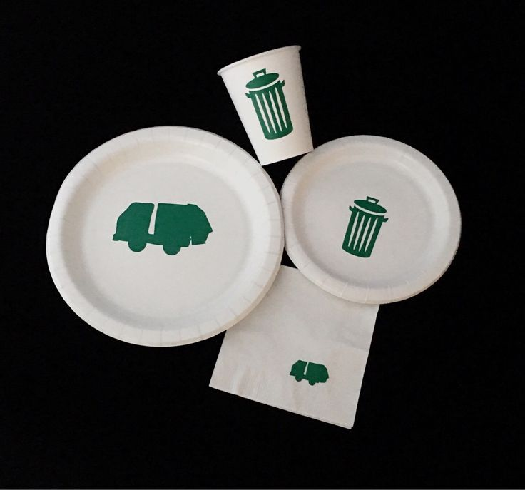 Garbage Truck Party Pack - Trash Truck - I Stink Birthday - Garbage Man Baby Shower - Waste Management - Trash Cans - Earth Day - Recycle by SteshaParty on Etsy https://www.etsy.com/listing/277930410/garbage-truck-party-pack-trash-truck-i