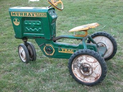 Will vintage pedal tractors
