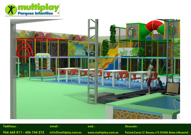 Multiplay Parques infantiles de interior