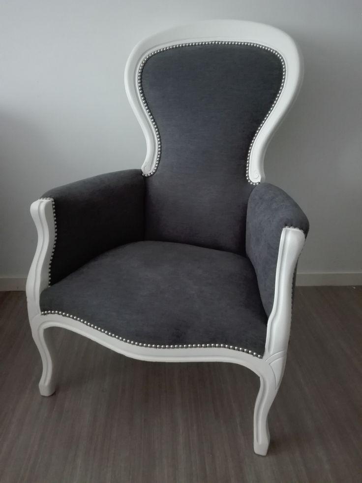 fauteuil berg re de style louis philippe relook relooking meubles ajh d co en 2019 fauteuil. Black Bedroom Furniture Sets. Home Design Ideas