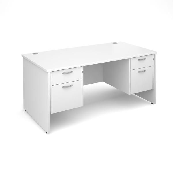 8 Best White Desk With Drawers On Both Sides Images On Pinterest | White  Desks, White Office And White Desk With Drawers