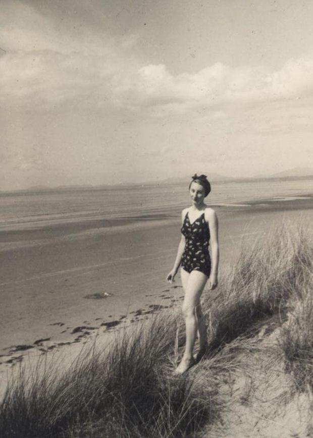 On the beach Co. Clare